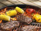 Gegrillte Steaks mit Gemüse Rezept