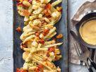 Gegrillter Fenchel mit Aprikosen und Scamorza Rezept