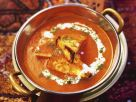 Gegrillter indischer Käse in Tomatensoße Rezept