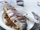 Gegrillter Lachs mit Couscous-Füllung Rezept