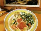 Gegrillter Thunfisch mit Salat Rezept