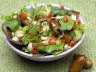 Gemischter Blattsalat mit Äpfeln und Datteln Rezept