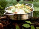 Gemischter Salat mit Birne Rezept