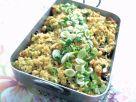 Gemüse-Auflauf mit Pute und Reis Rezept