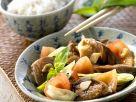 Gemüse-Austernpilzpfanne Rezept
