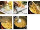 Gemüse-Creme-Suppe zubereiten Rezept