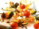 Gemüse-Feta-Grillspieße Rezept