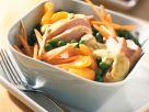 Gemüse-Geflügelsalat mit Mandarinen Rezept