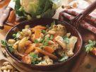 Gemüse-Hähnchen-Pfanne Rezept