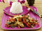 Gemüse-Hähnchen-Pfanne auf thailändische Art Rezept