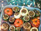 Gemüse mit pikanter Füllung Rezept