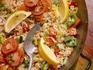 Gemüse-Reispfanne Rezept