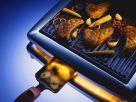 Gemüse und Fleisch auf Raclette Rezept