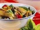 Gemüse-Wok mit Schweinefleisch Rezept