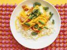 Gemüsecurry mit Tofu Rezept