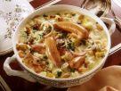 Gemüseeintopf mit Kartoffeln, Kohlrabi, Zwiebeln in sahniger Soße Rezept