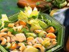 Gemüseeintopf mit Nudeln und Pute Rezept