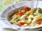 Gemüseeintopg mit Fleischbällchen Rezept