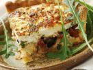 Gemüsekuchen mit Ziegenkäse und Oliven Rezept
