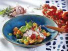Gemüsepfanne mit Kartoffeln und Ricotta Rezept
