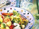 Gemüsepfanne mit Quark Rezept