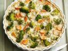 Gemüsequiche mit Möhren und Brokkoli Rezept
