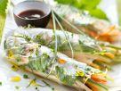 Gemüserollen im Reisblatt Rezept