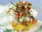 Gemüsesalat mit Feta Rezept