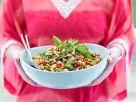 Gemüsesalat mit Kichererbsen Rezept