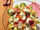 Gemüsesalat mit Lachsschinken Rezept