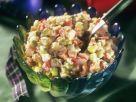 Gemüsesalat mit Mayonnaise-Dressing Rezept