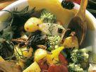 Gemüsesalat mit Ofenkartoffeln Rezept