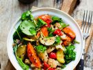 Gemüsesalat mit Rucola Rezept