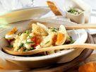 Gemüsesalat mit Topinambur und Ei Rezept