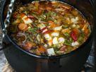 Gemüsesuppe aus dem Kessel Rezept