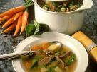 Gemüsesuppe mit Suppenfleisch Rezept