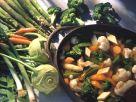 Gemüsesuppe mit Tofu Rezept