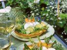 Gemüsetarte mit Ziegenkäse Rezept