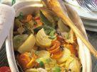 Gemüsetopf im Ofen gebacken Rezept