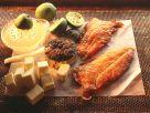 Geräucherter Stör mit Kaviar auf Limettensauce Rezept