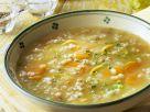 Gersten-Gemüsesuppe Rezept