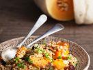Gerstensalat mit Kürbis, Lauch und Cranberries Rezept