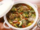 Gerstensuppe mit Gemüse und Pilzen Rezept