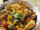 Geschmorte Hähnchenstücke auf italienische Art Rezept