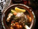 Geschmorte Lammhaxe mit Möhren Rezept