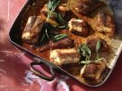 Geschmorter Aal mit Salbei Rezept
