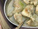 Geschmortes Hähnchen auf französische Art Rezept