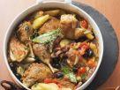Geschmortes Huhn mit Gemüse provenzalischer Art Rezept