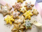 Glasierte Weihnachtsplätzchen Rezept