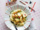 Gnocchi mit Blauschimmelkäsesoße und Nüssen Rezept